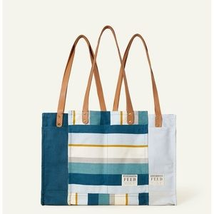 New Feed Causebox Stripes Market Tote
